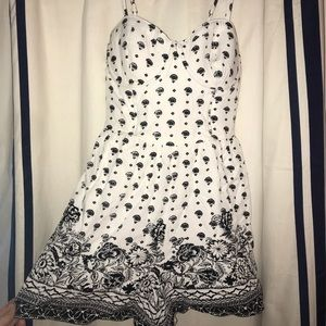 Abercrombie & Fitch Patterned Romper